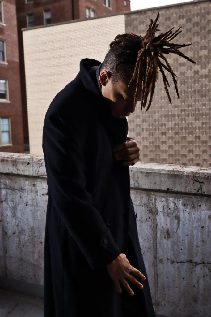 Model Khalil Imani in Central West End